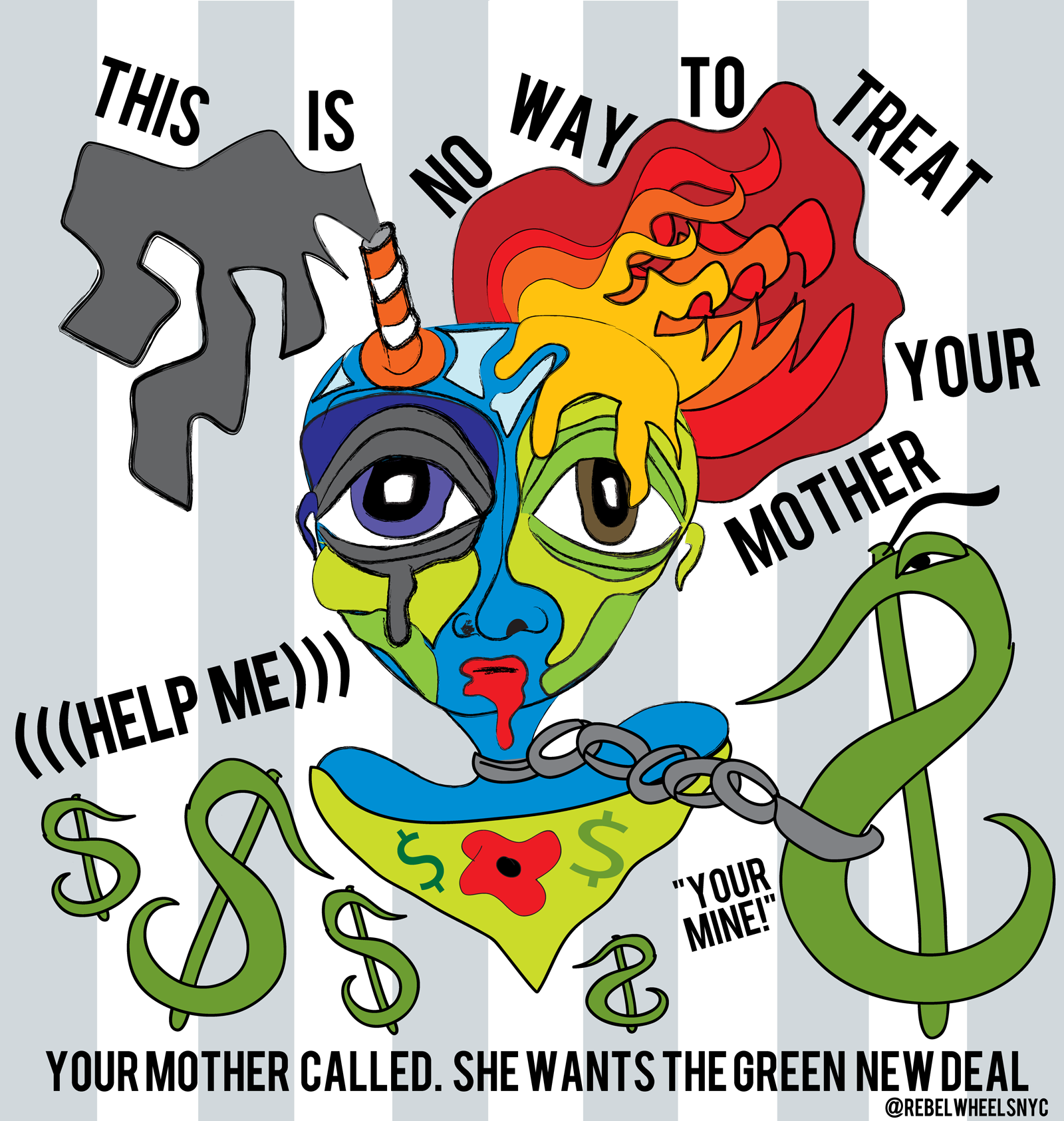 Michele Kaplan (@RebelWheelsNYC) – Your Mother Called